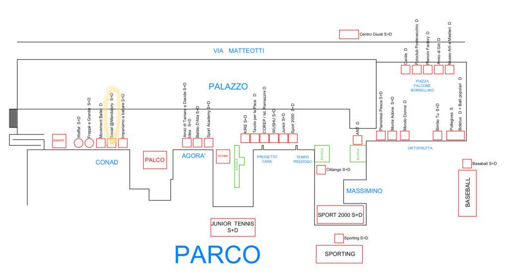Planimetria Corso Esperanto con associazioni