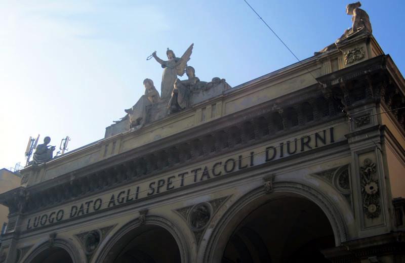 facciata teatro arena del sole